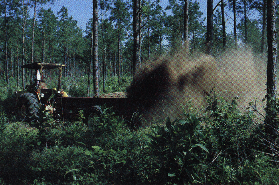 Nrem 5037 Application Of Poultry Litter To Pine Forests