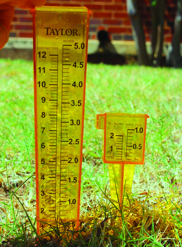 HLA-6610 Simple Irrigation Audit for Home Lawns in Oklahoma » OSU