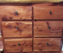Figure 1. Eastern redcedar chest.